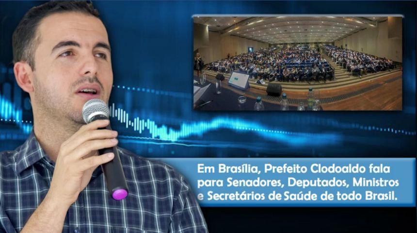 Município de Nova Tebas é Referencia em Saúde Publica no Paraná e no Brasília