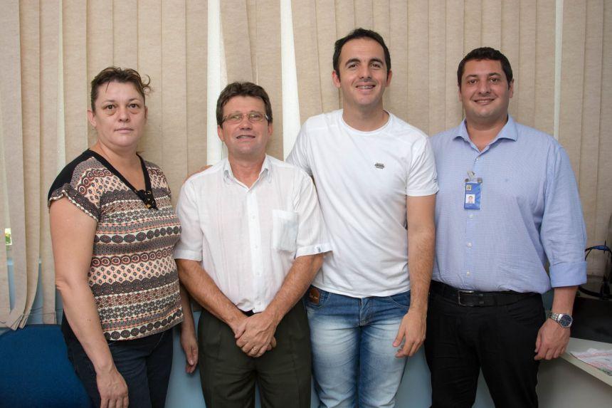 Reunião gerente Banco do Brasil