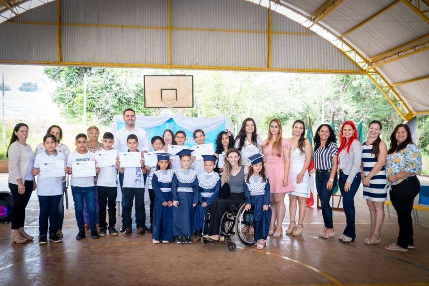 Formatura Escola Municipal Aristide Dal Santo