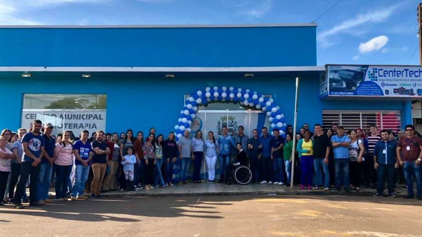 Inauguração do Centro Municipal de fisioterapia