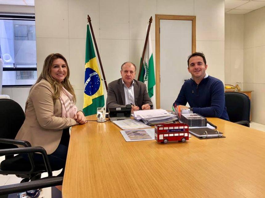 """Prefeito Clodoaldo se reuni com o Secretário de Desenvolvimento Urbano e Obras Publicas""""SEDU"""""""