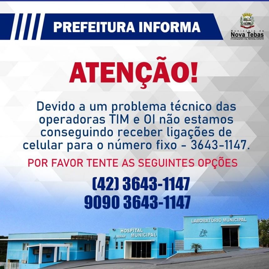 Prefeitura Informa