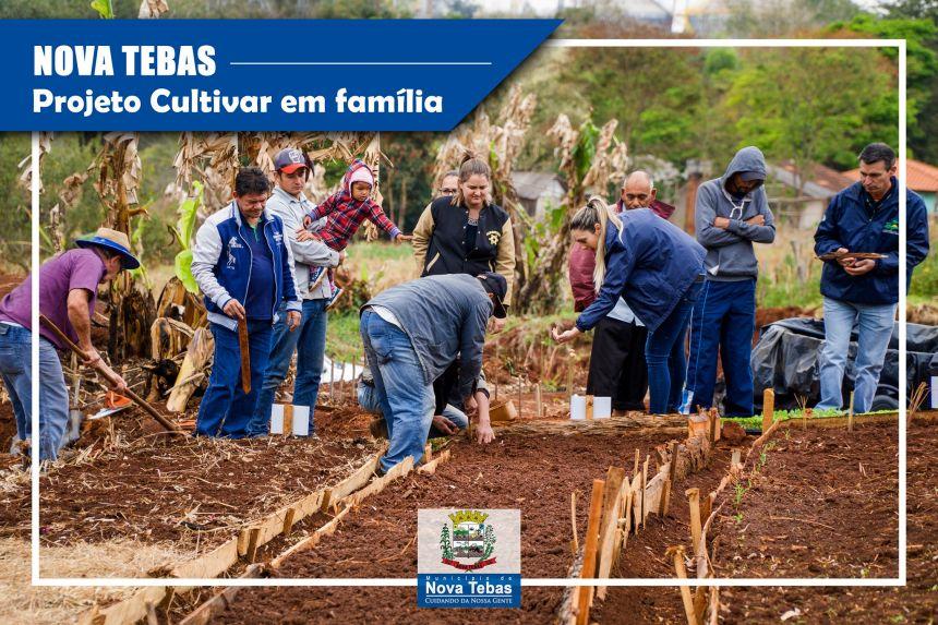 Lançamento do Projeto Cultivar em Família