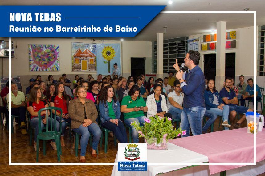 Prestação de Contas Comunidade do Barreirinho de Baixo