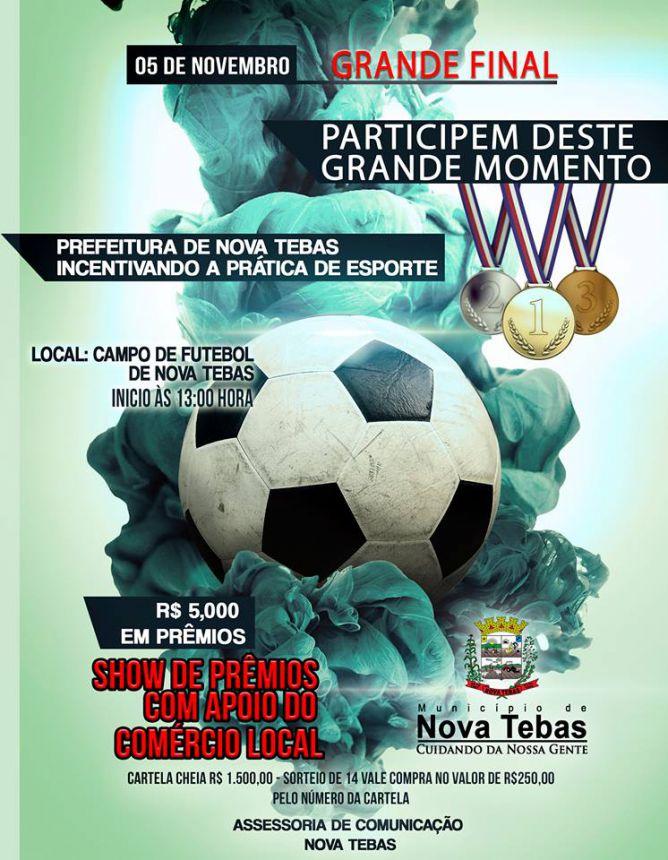 Convite Grande Final do Campeonato Municipal