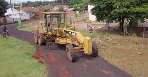 Secretaria de Obras e Urbanismo atendeu distrito de Catuporanga.