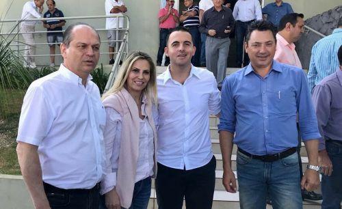 Ministro de Saúde Ricardo Barros e Vice Governadora Do Paraná Cida Borghertti