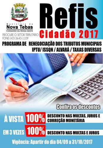 REFIS CIDADÃO 2017