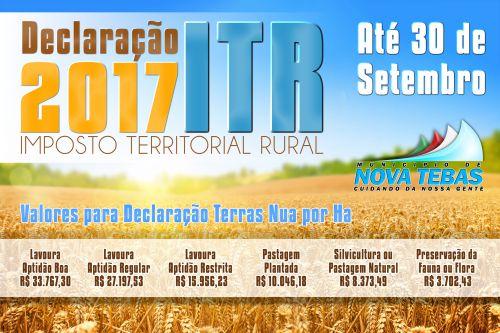 ITR 2017.