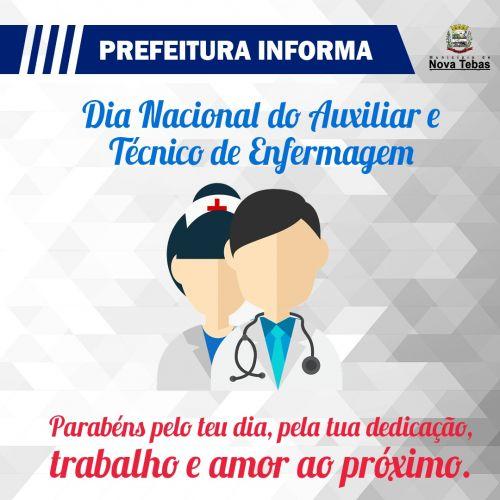 Dia Nacional do Auxiliar e Técnico de Enfermagem