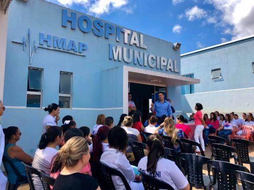 "Outubro Rosa Hospital Municipal  ""HMAP"""