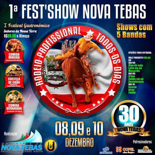 Vem aí 1ª Fest′Show.