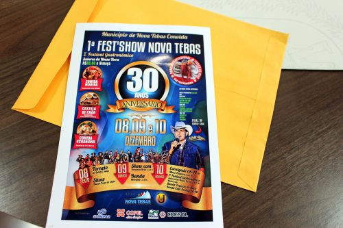 Convite 1ª Fest Show