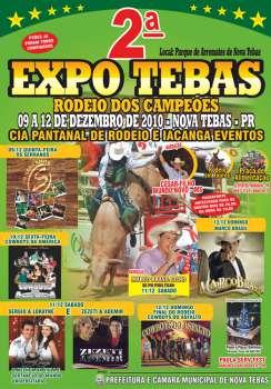CARTAZ DA 2° EXPO TEBAS