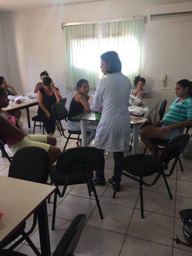 CRAS promove palestra para gestantes