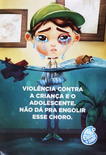 """""""Não engula o choro"""" é tema de campanha contra violência infantil"""