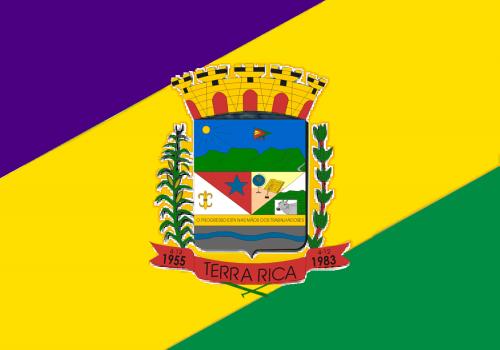Bandeira Municipal de Terra Rica