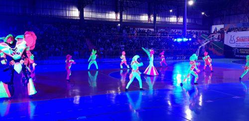 Abertura dos Jogos Abertos do Paraná