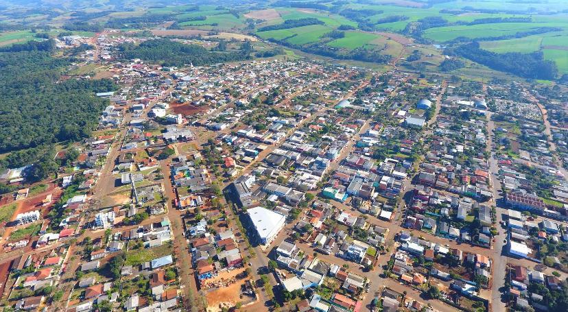 imagem aerea de manoel ribas