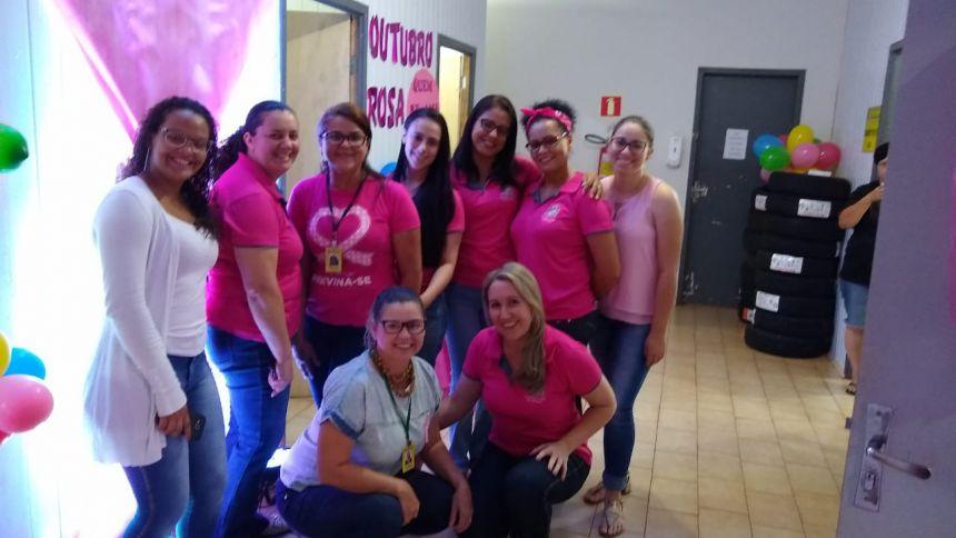 Secretaria de Saúde encerra campanha Outubro Rosa