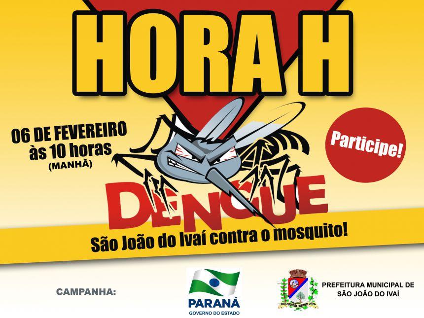 Secretaria de Saúde de São João do Ivaí convoca população para o combate à dengue