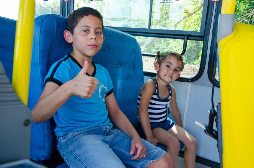 Ônibus Escolar 0 km é destinado para Água da Jabuticaba