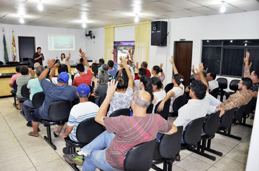 População de São João do Ivaí aponta prioridades para aplicação de recursos do Estado