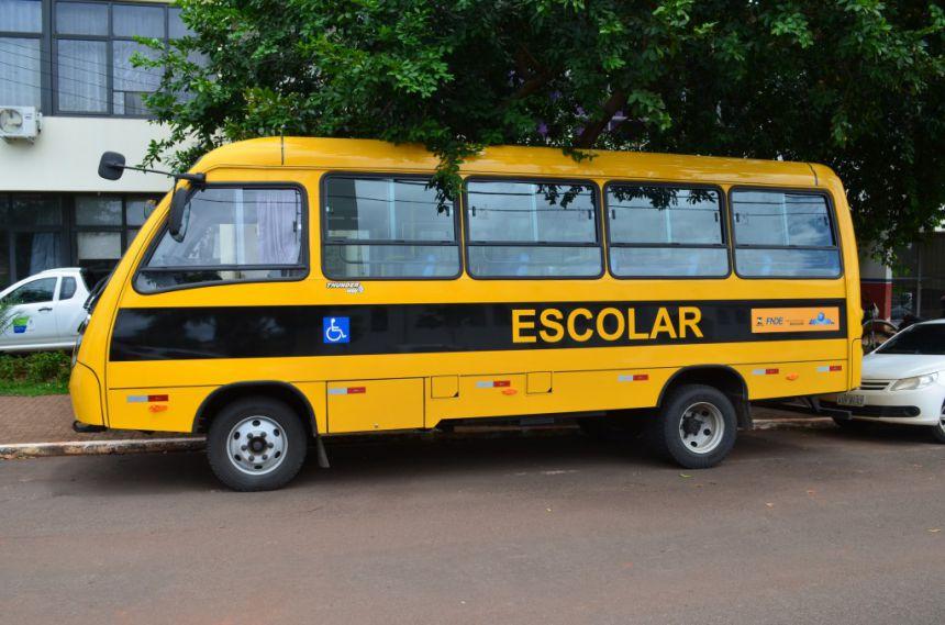 Mais um ônibus adquirido para modernizar a frota escolar
