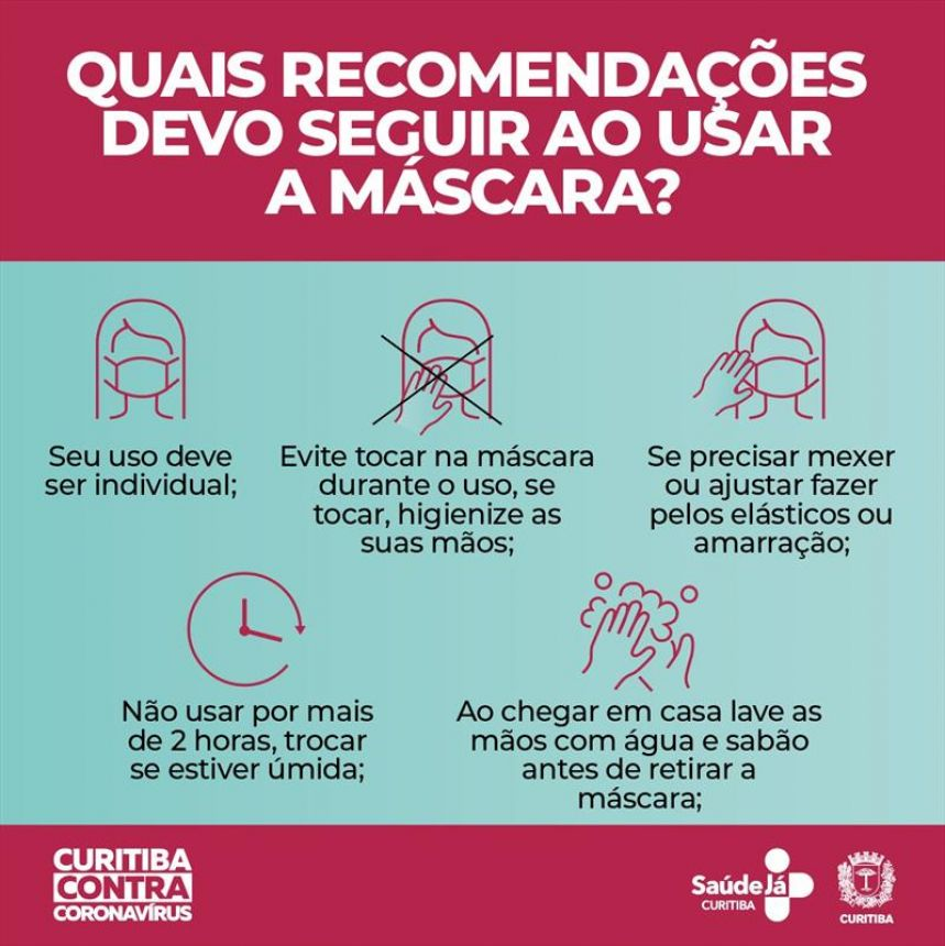 Saúde orienta uso de máscaras caseiras como reforço à prevenção da covid-19. Veja as orientações