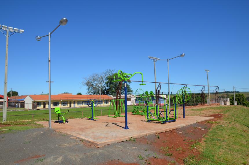 Prefeitura de São João do Ivaí instala academias públicas em mais dois pontos da cidade