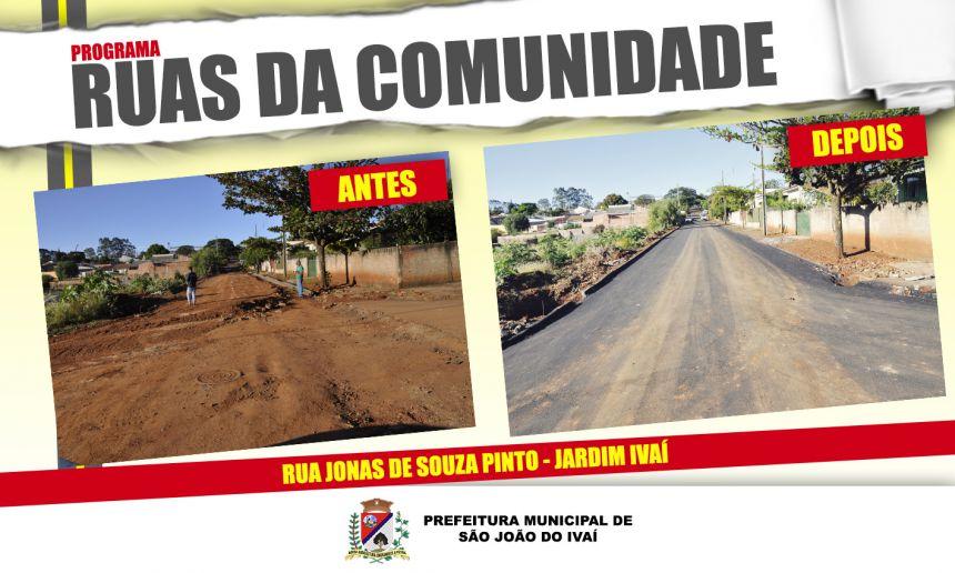 Rua Antônio Francisco de Oliveira recebe obras de urbanização