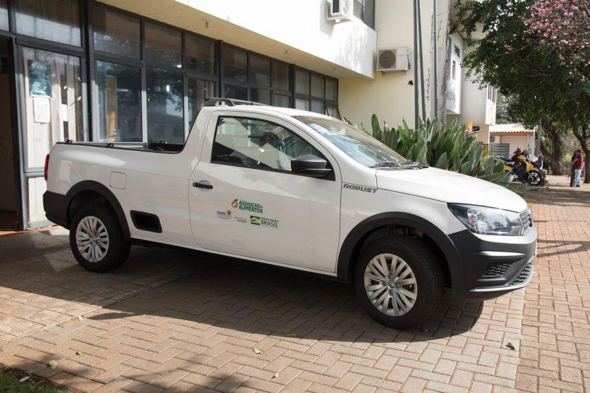Veículo e equipamentos chegam para melhor distribuição da merenda em São João do Ivaí