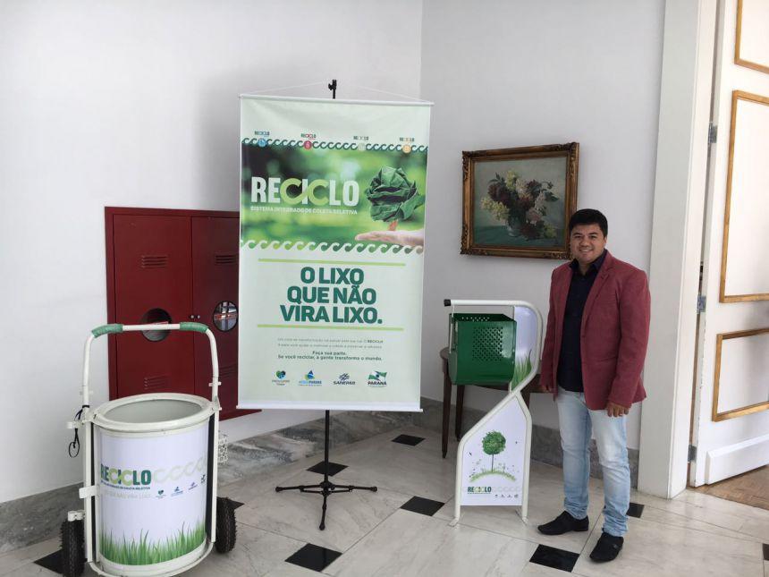 Governo do Estado libera equipamentos para melhorar limpeza pública em São João do Ivaí