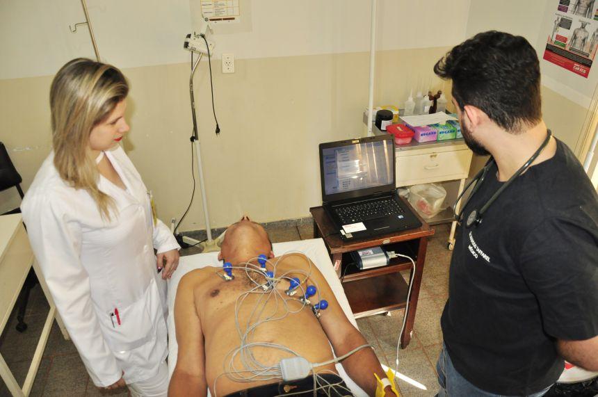 Hospital de São João do Ivaí adota sistema para oferecer exames cardiológicos com laudo