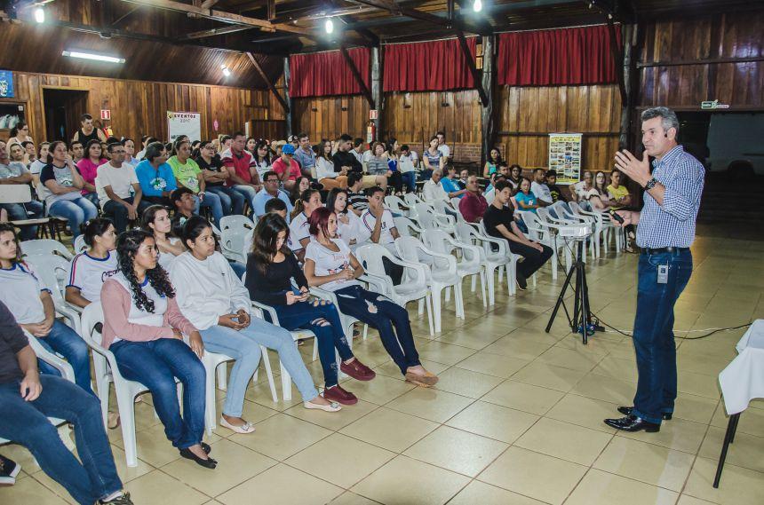 Prevenção e Combate às Drogas é tema de palestra em São João do Ivaí