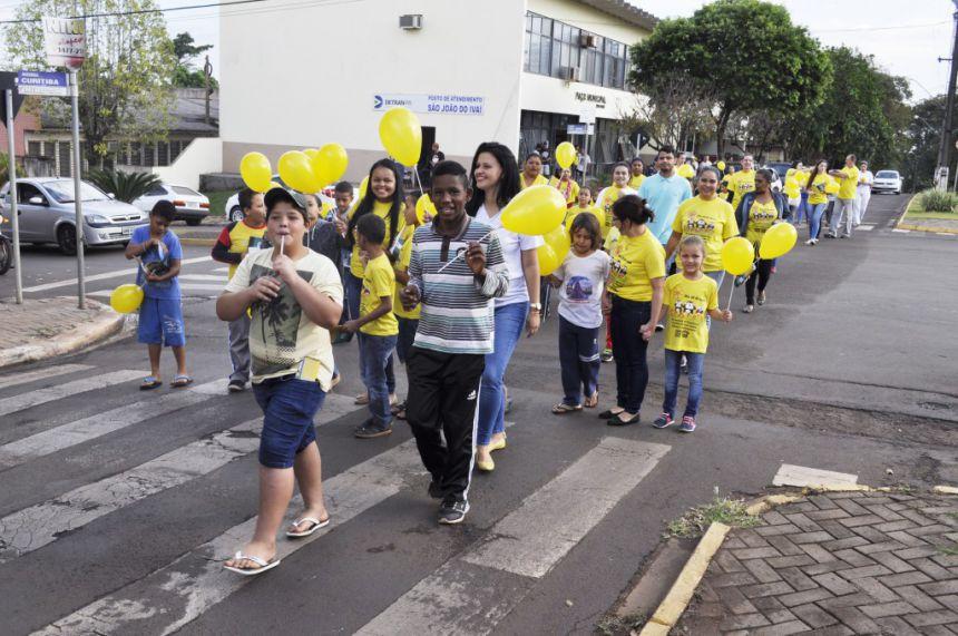 São João do Ivaí se mobiliza contra o abuso e a exploração de crianças e adolescentes