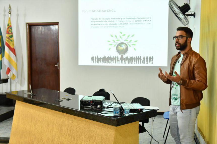 Circuito de palestras sobre educação ambiental busca promover cidadãos mais conscientes
