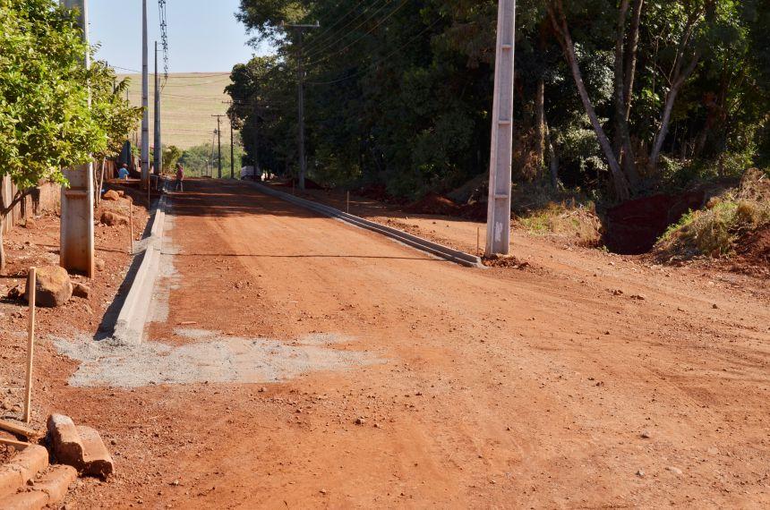Prefeitura inicia obras na Rua Juscelino Kubitschek