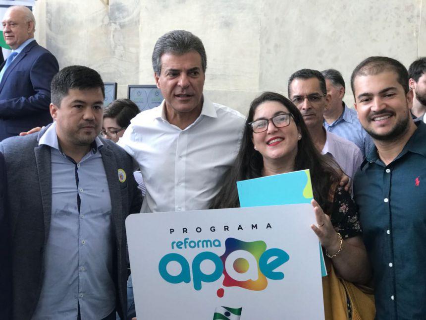 Quatro colégios e a APAE de São João do Ivaí receberão investimentos do Governo do Estado