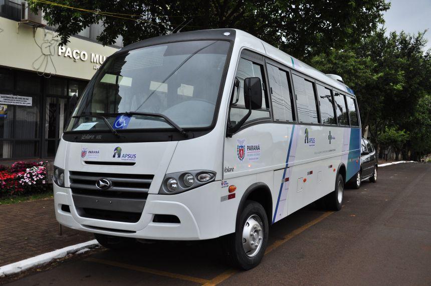 São João do Ivaí adquire microônibus para transporte de pacientes