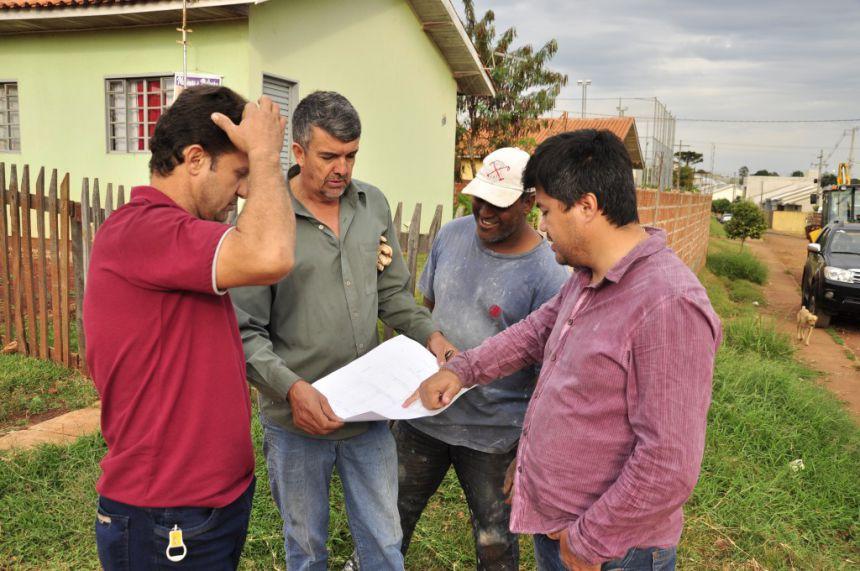 Prefeitura inicia obras de galeria no Conjunto Alceu Marcos