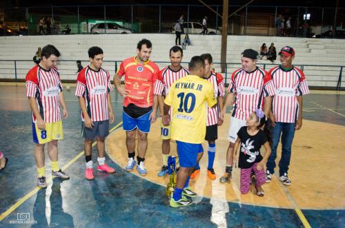 Equipe de Santa Luzia é campeã do Campeonato Municipal de Futsal