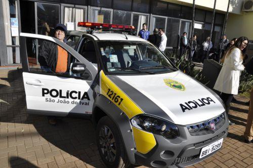 Hidek entrega novas viaturas policiais