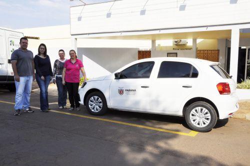 Saúde de São João do Ivaí recebe mais um veículo para transporte de pacientes