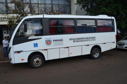 Assistência Social de São João do Ivaí ganha ônibus do Governo do Estado