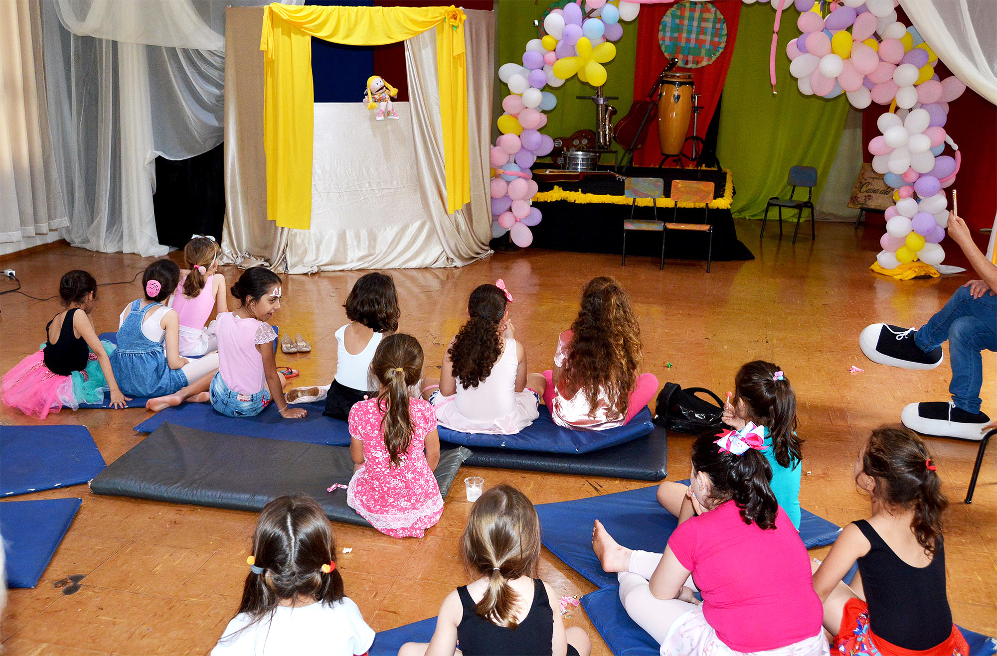 Semana da Criança foi repleta de atividades na Casa da Cultura