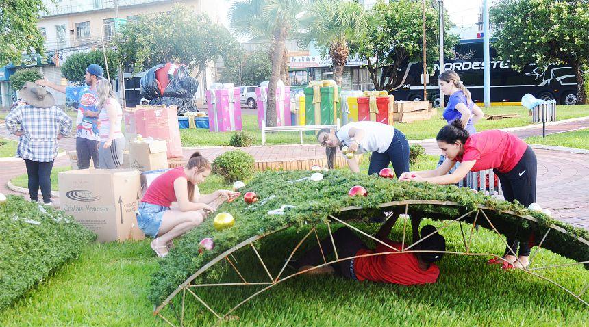 Assis prepara o lançamento do Natal Luz