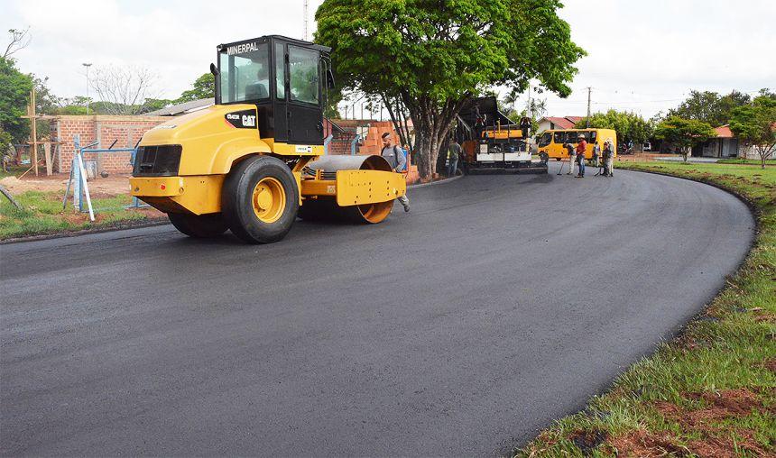 Prefeitura inicia recape asfáltico em Bragantina