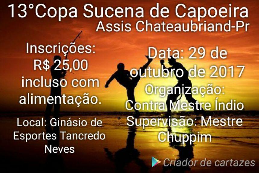 Assis Chateaubriand sediará evento regional de capoeira