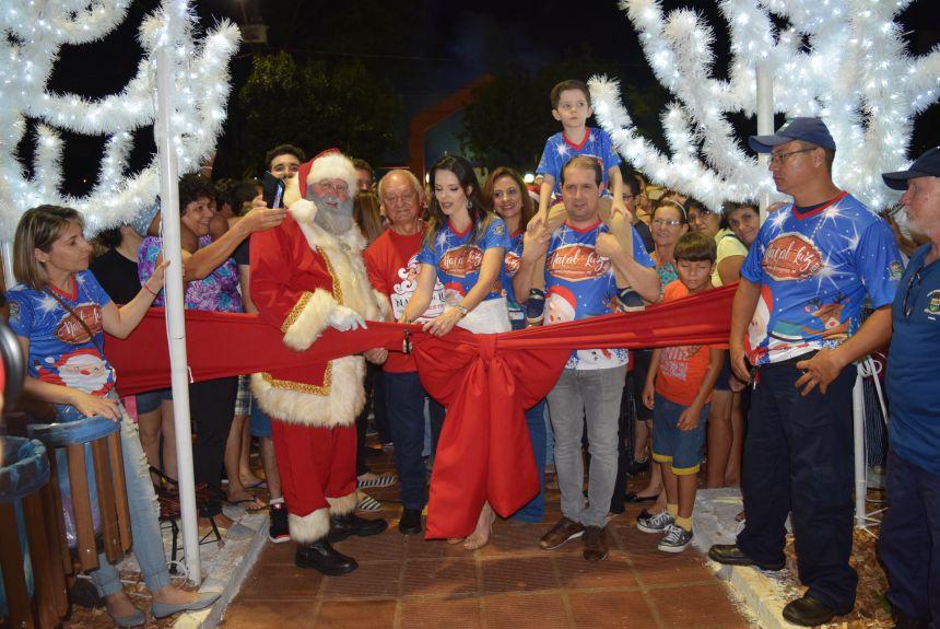 Abertura do Natal Luz encantou o público